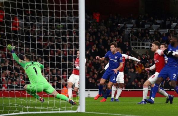 «Арсенал» обыграл «Челси» влондонском дерби АПЛ