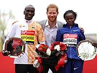 Элиуд Кипчоге в четвертый раз стал победителем Лондонского марафона
