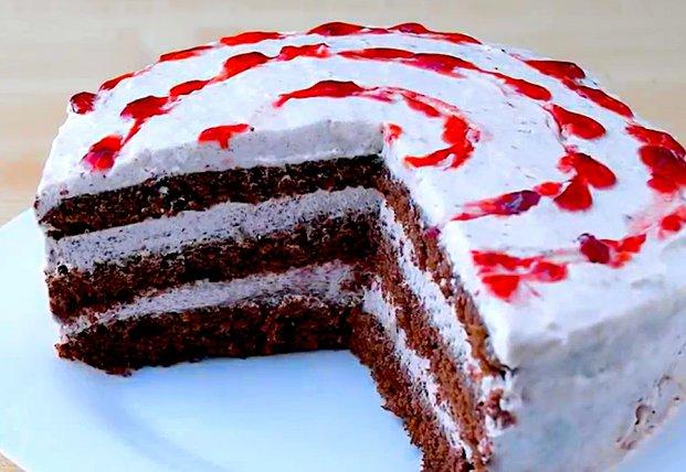 Станет вашим любимым: шоколадный торт без выпечки за 10 минут (видео)