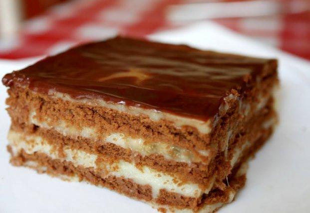 Очень сочный и вкусный торт без выпечки за 15 минут (видео)