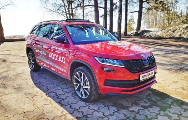 ŠKODA KODIAQ Sportline: Редкий зверь на дорогах России