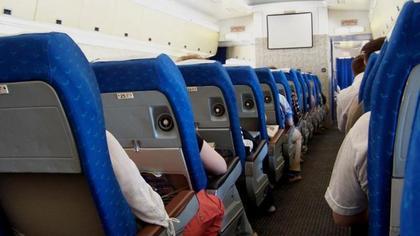 Пассажиры не смогли покинуть лайнер при появлении пламени во Внуково