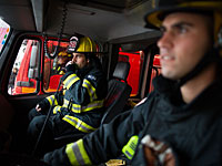 В центре Тель-Авива вспыхнул пожар