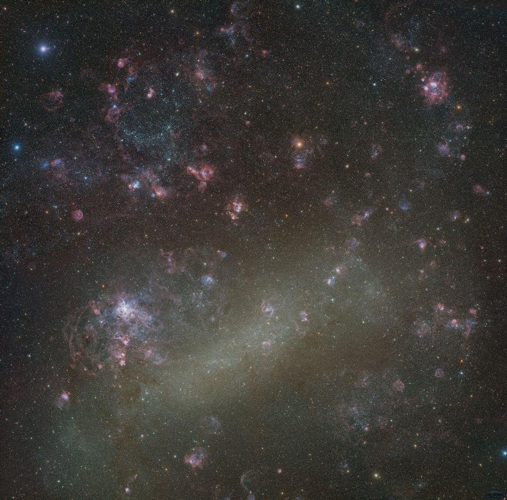 Большое Магелланово Облако: лучший снимок за всю историю человечества