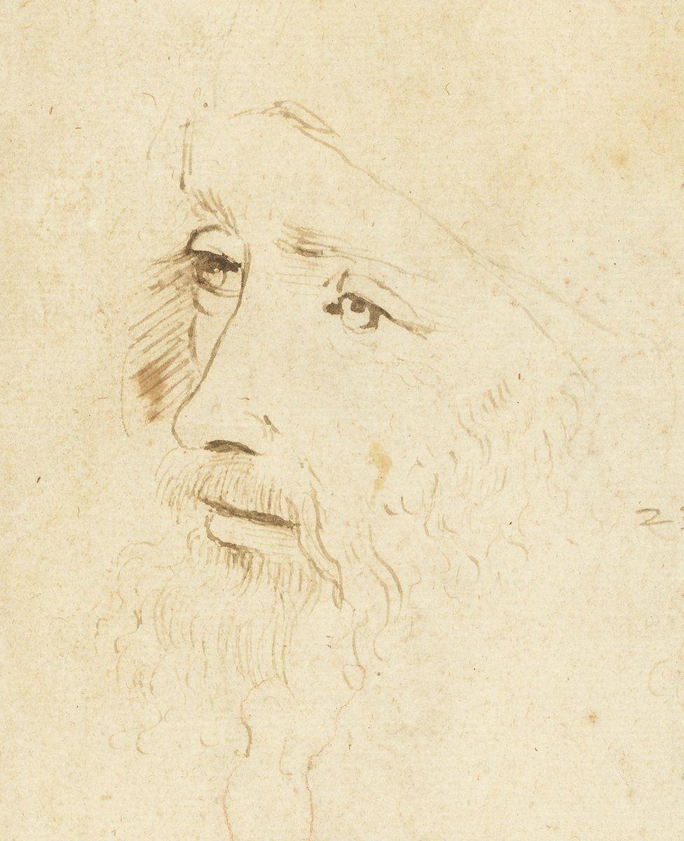 Найден ранее неизвестный прижизненный портрет Леонардо да Винчи (фото)