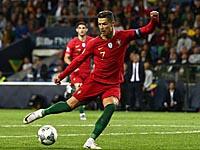 Криштиану Роналду забил три мяча. Португальцы вышли в финал Лиги наций