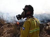 Около границы с Газой возникло несколько пожаров, вызванных