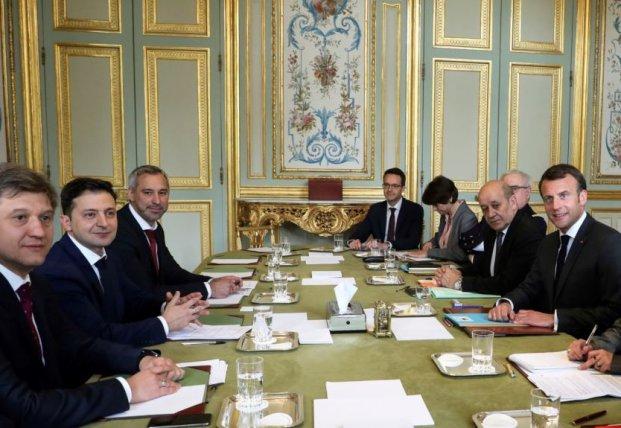 Главный итог парижских переговоров Макрона и Зеленского