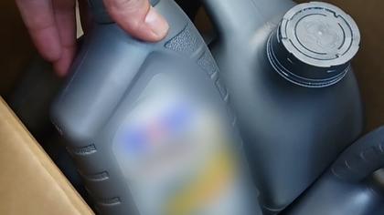 Кемеровские автомагазины торговали контрафактным маслом