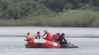 Кемеровские школьники спасли рыбака на Томи