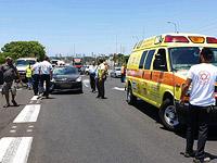 Авария около Холона: автомобиль насмерть сбил велосипедиста