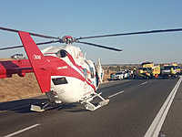 Авария возле развязки Кирьят-Гат; среди пострадавших - трое детей