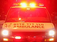 Во двор одного из тель-авивских ресторанов упала стеклянная панель; четверо пострадавших
