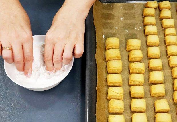 Обалденное печенье к чаю за 15 минут (видео)