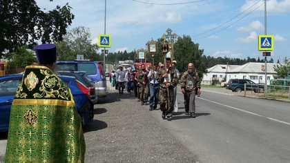 Кузбасский крестный ход завершился в Томске