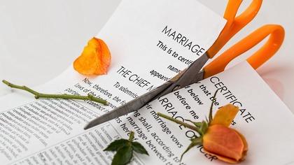 Росстат составил рейтинг регионов по количеству разводов