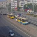 ДТП с фурой парализовало движение на Радуге в Кемерове