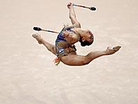 Художественная гимнастика. Линой Ашрам завоевала четыре медали в Минске