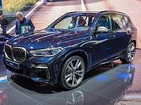 В Израиль прибыл новый гибридный кроссовер BMW X5