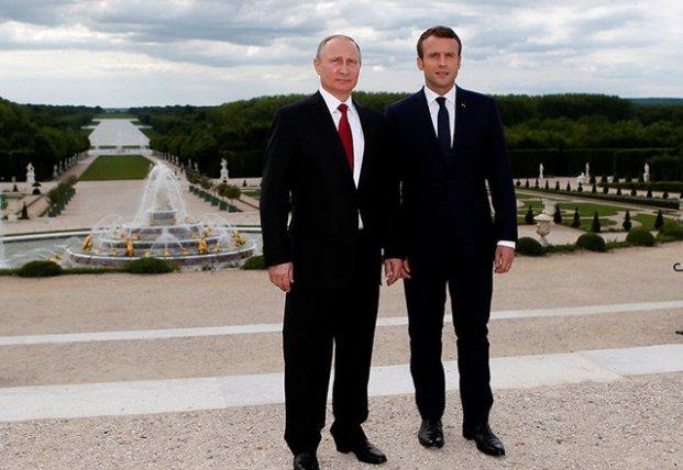 Путин хочет лечь под «крышу» Макрона