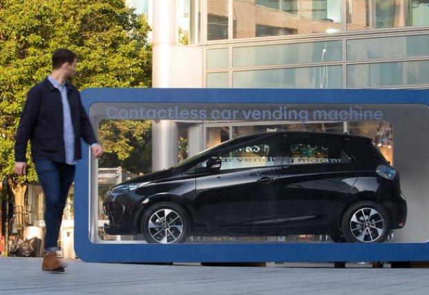 Электромобиль теперь можно купить в автомате, как шоколадку