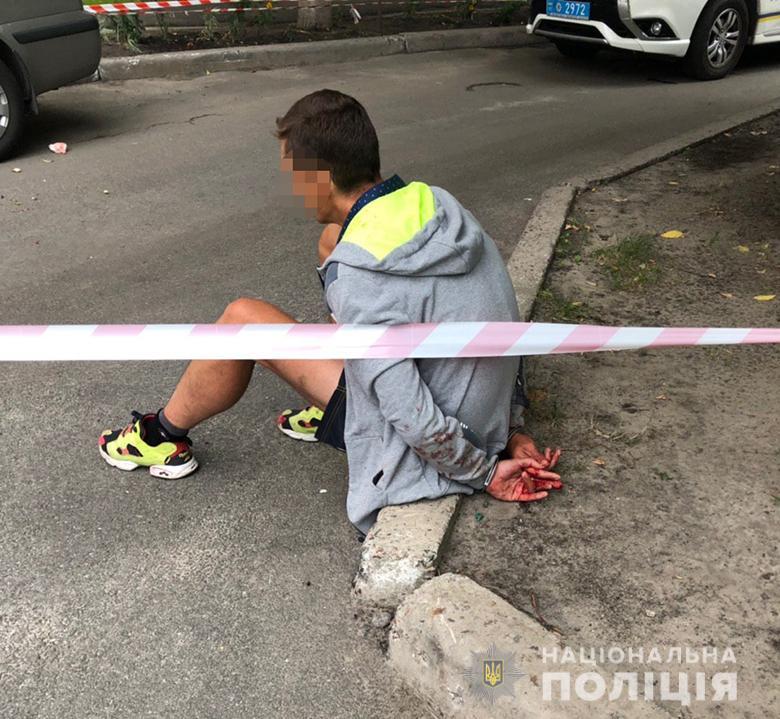 В Киеве мужчина в день рождения дочки устроил резню (фото)