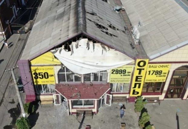Сгоревшая в Одессе гостиница была зарегистрирована как склад
