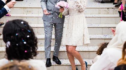 Солист группы Muse женился на молодой возлюбленной