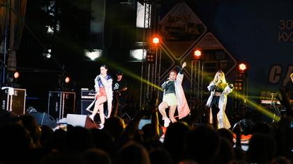 Известная поп-группа выступила с концертом на День шахтера в Кемерове