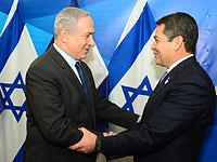 Президент Гондураса Хуан Эрнандес прибыл в Израиль