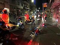В Тель-Авиве разбилась магазинная витрина, пострадал молодой мужчина