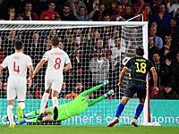 Евро 2020. Англичане пропустили на 34-й секунду и победили сборную Косово 5:3. Кейн не забил пенальти