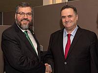 В кулуарах Генассамблеи ООН Исраэль Кац встретился с главой МИД Бразилии