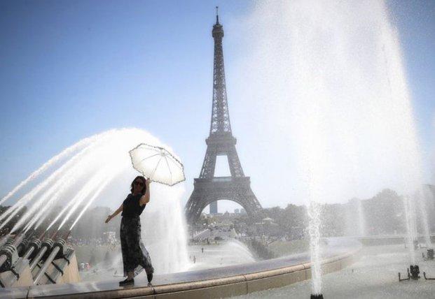 Рекордная летняя жара во Франции убила 1500 человек