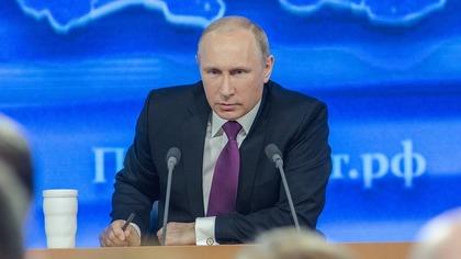 Путин высказался против очернения Украины на российском телевидении