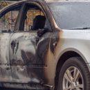 Огонь полностью уничтожил легковушку в Новокузнецком районе