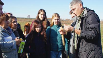 Кемеровские экологи изучили природоохранные проекты Беловской ГРЭС