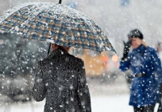 Украину завтра засыплет мокрым снегом