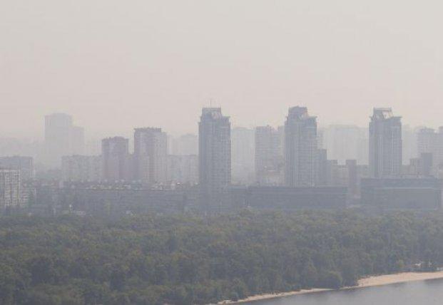 Качество воздуха в Киеве: свежие данные по всем микрорайонам столицы