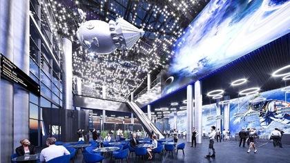Новые фото будущего терминала кемеровского аэропорта появились в Сети