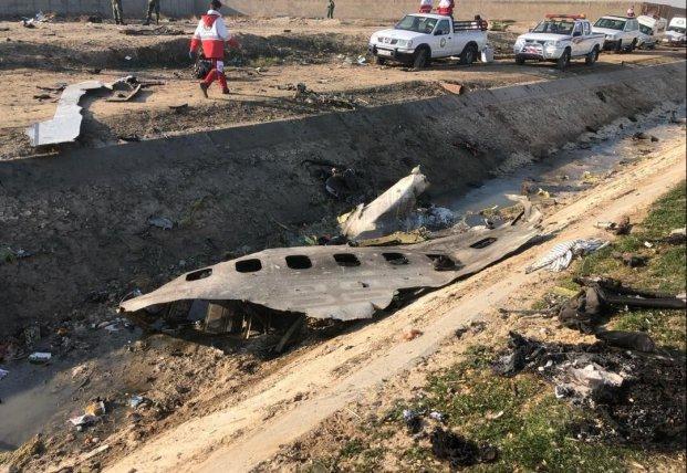 Короткі висновки після катастрофи літака МАУ в Ірані