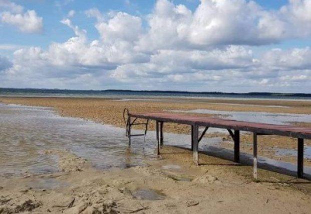 Резкое падение уровня воды в Шацких озерах: открыто уголовное дело