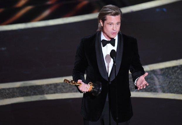 56-летний Брэд Питт получил свой первый Оскар