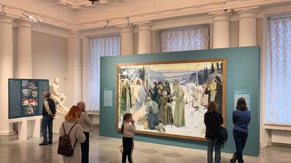 Кузбассовцам покажут восстановленный шедевр живописи из Русского музея