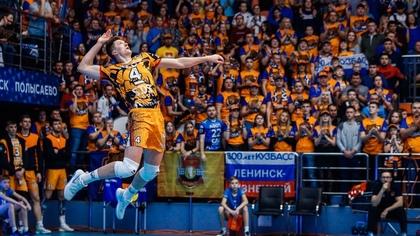 Кузбасские волейболисты попали в плей-офф Лиги Чемпионов