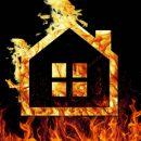 Пожар вспыхнул в частном жилом доме в Кузбассе