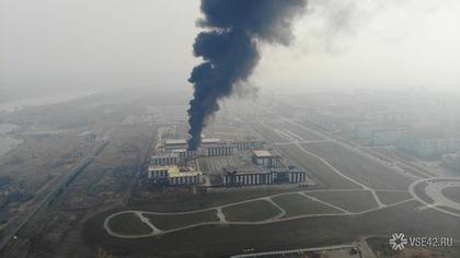 В Минобороны рассказали о причинах пожара у кемеровской