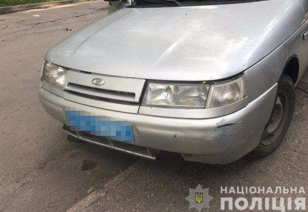 В Запорожье полицейский сбил ребенка