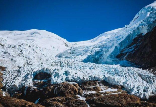 В тающих ледниках Тибета обнаружены неизвестные вирусы