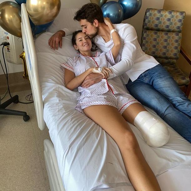 Участнице конкурса красоты Мисс Вселенная ампутировали ногу (фото)